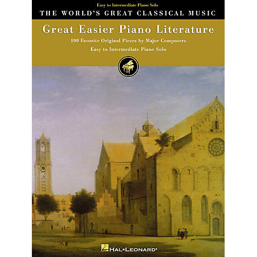 Hal Leonard Great Easier Piano Literature World's Greatest Classical Music Series (Easy)