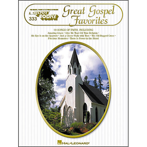 Hal Leonard Great Gospel Favorites E-Z Play 333-thumbnail