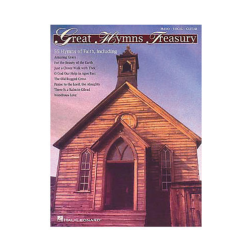 Hal Leonard Great Hymns Treasury Piano, Vocal, Guitar Songbook-thumbnail