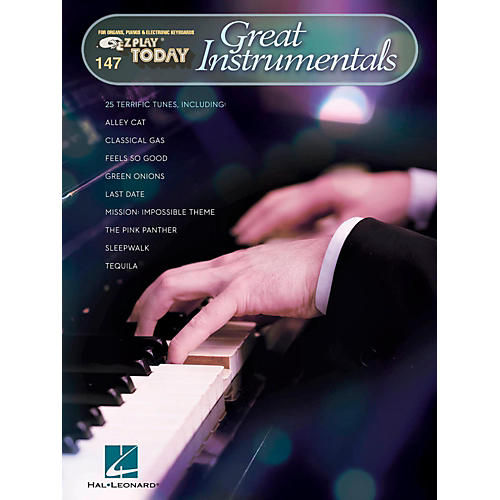 Hal Leonard Great Instrumentals E-Z Play Today Volume 147-thumbnail