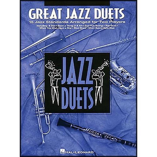 Hal Leonard Great Jazz Duets for Alto Sax-thumbnail