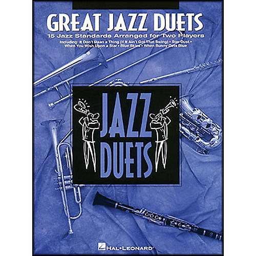 Hal Leonard Great Jazz Duets for Clarinet-thumbnail