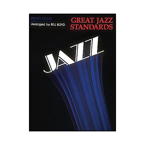 Hal Leonard Great Jazz Standards - Piano Solos - Intermediate Level-thumbnail