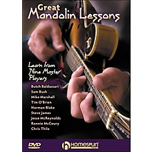 Homespun Great Mandolin Lessons: learn From Nine Master Players DVD