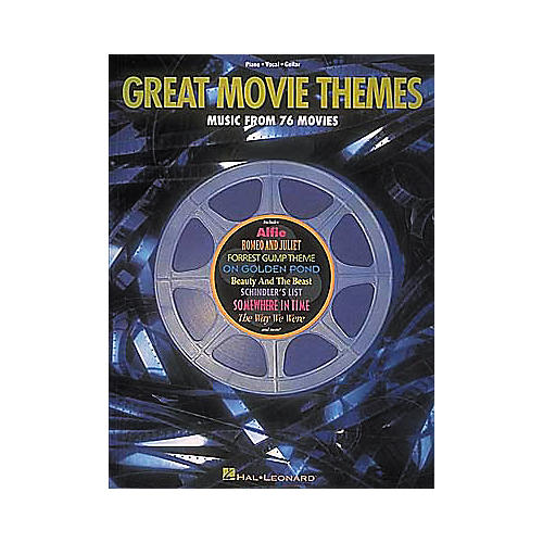 Hal Leonard Great Movie Themes Piano, Vocal, Guitar Songbook