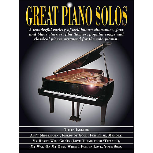Hal Leonard Great Piano Solos-thumbnail