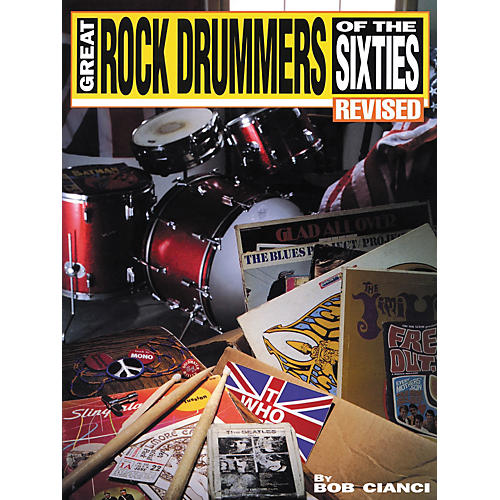 Hal Leonard Great Rock Drummers Of The Sixties Revised Book