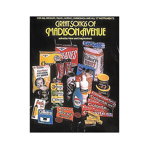 Hal Leonard Great Songs Of Madison Avenue Piano/Vocal/Guitar Songbook-thumbnail