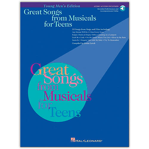 Hal Leonard Great Songs from Musicals for Teens (Book/Online Audio)