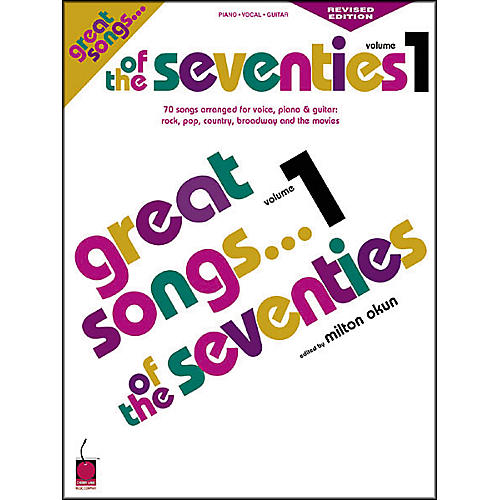 Cherry Lane Great Songs of the 70's - Revised Edition Book-thumbnail