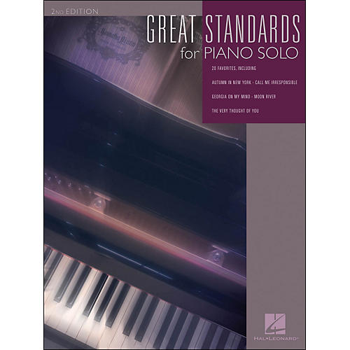 Hal Leonard Great Standards for Piano Solo - 2nd Edition-thumbnail