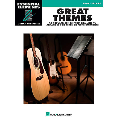 Hal Leonard Great Themes - Essential Elements Guitar Ensembles Songbook-thumbnail