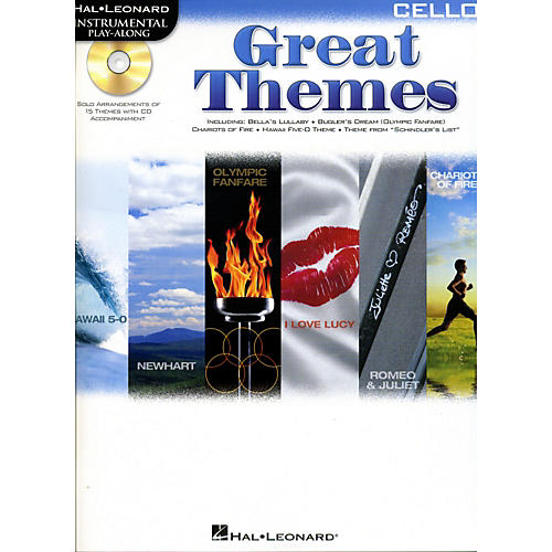 Cherry Lane Great Themes - Instrumental Play-Along Book/CD-thumbnail
