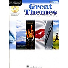 Hal Leonard Great Themes - Instrumental Play-Along Book/CD