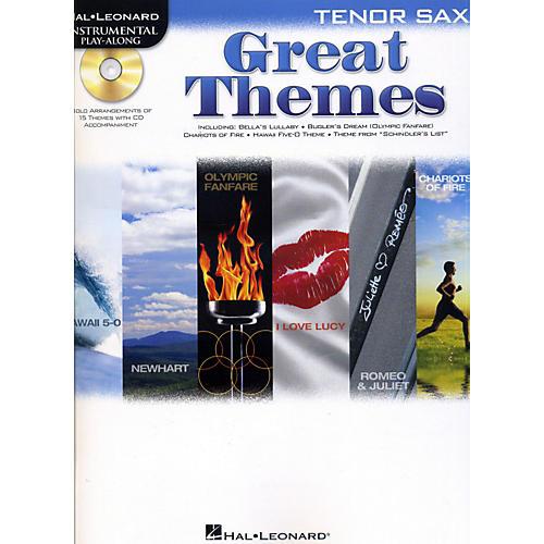 Hal Leonard Great Themes - Instrumental Play-Along Book/CD-thumbnail
