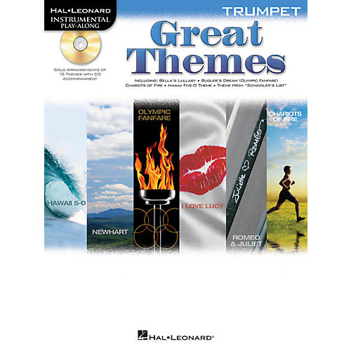 Hal Leonard Great Themes - Instrumental Play-Along Book/CD-thumbnail