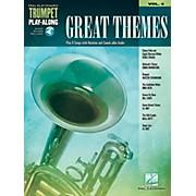 Hal Leonard Great Themes - Trumpet Play-Along Vol. 4 (Book/Audio Online)