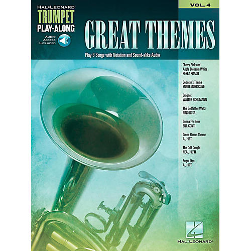 Hal Leonard Great Themes - Trumpet Play-Along Vol. 4 (Book/Audio Online)