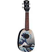 Luna Guitars Great Wave Soprano Ukulele
