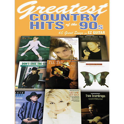 Alfred Greatest Country Hits of the 90s Book)-thumbnail