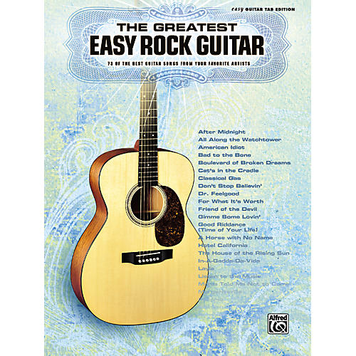 Alfred Greatest Easy Rock Guitar Tab Songbook-thumbnail