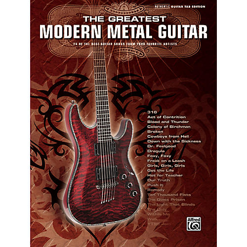 Alfred Greatest Modern Metal Guitar