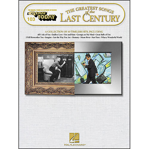 Hal Leonard Greatest Songs Of The Last Century E-Z Play 103-thumbnail