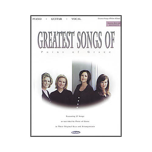 Word Music Greatest Songs of Point of Grace Book