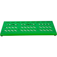Gator Green Aluminum Pedal Board; XL w/ Carry Bag