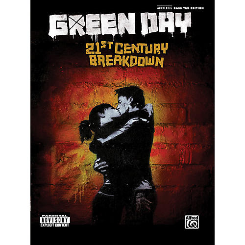 Alfred Green Day - 21st Century Breakdown (Bass Tab Book)-thumbnail