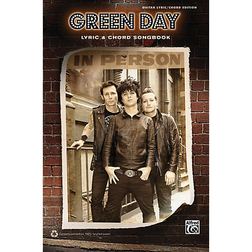 Alfred Green Day - Lyric & Chord Songbook-thumbnail