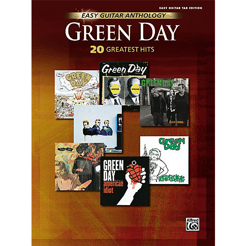 Hal Leonard Green Day Anthology Easy Guitar Tab Songbook-thumbnail