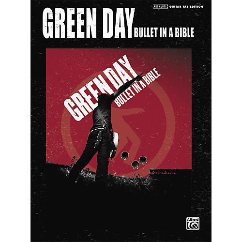 Alfred Green Day Bullet in a Bible Guitar Tab Songbook