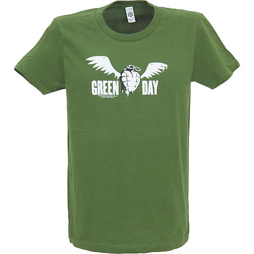 Cinder Block Green Day Flying Grenade Women's T-Shirt