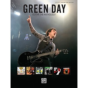 Alfred Green Day Guitar Tab Anthology Book by Alfred