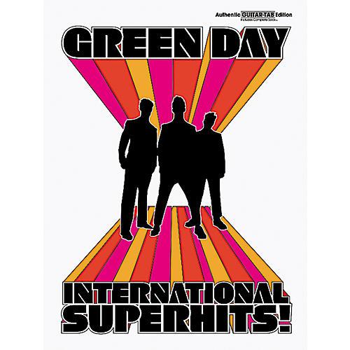 Alfred Green Day International Superhits! Guitar Tab Book-thumbnail