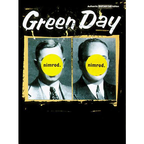 Alfred Green Day Nimrod Guitar Tab Book
