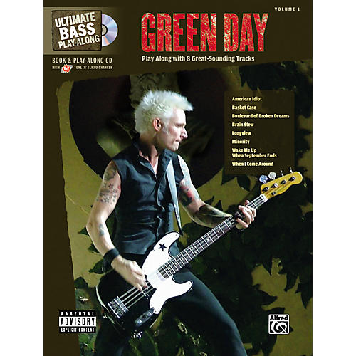 Alfred Green Day Ultimate Play-Along Bass Guitar Tab Songbook with Enhanced CD-thumbnail