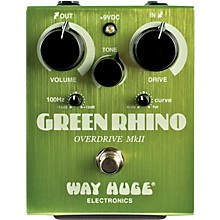 Way Huge Electronics Green Rhino MkII Overdrive Guitar Effects Pedal Level 1