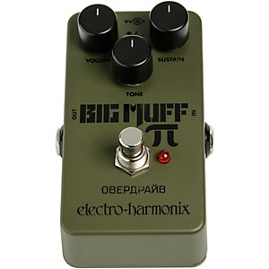 Electro-Harmonix Green Russian Big Muff Distortion and Sustainer Effects Pe... by Electro Harmonix