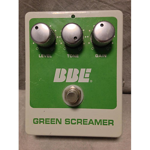 BBE Green Screamer Overdrive Effect Pedal-thumbnail