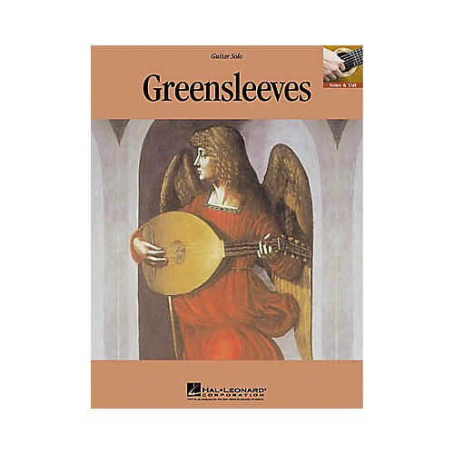 Hal Leonard Greensleeves Guitar Sheet Music Book-thumbnail