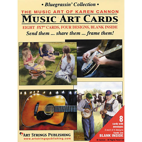 Art Strings Greeting Cards Bluegrassin' Collection 8-Pack Assorted-thumbnail