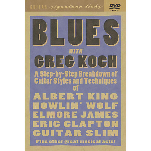 Hal Leonard Greg Koch Blues Guitar DVD-thumbnail