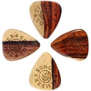 Timber Tones Grip Burmese Rosewood Guitar Picks