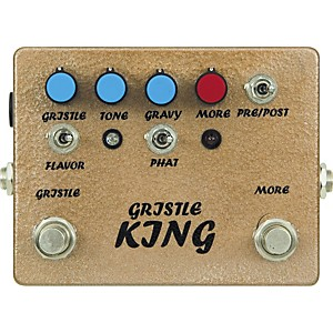 T-Rex Engineering Gristle King Guitar Effects Pedal by T Rex Engineering
