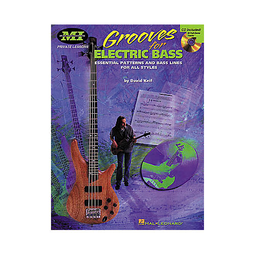 Hal Leonard Grooves for Electric Bass Book/CD