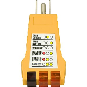 American Recorder Technologies Ground Fault Outlet Receptacle Tester by American Recorder Technologies