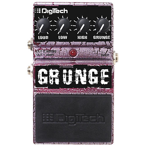 DigiTech Grunge Distortion Guitar Effects Pedal
