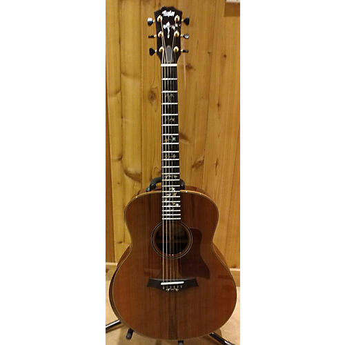 Taylor Gs Custom Redwood Top Coco Bolo Blk And Sides Acoustic Electric Guitar-thumbnail